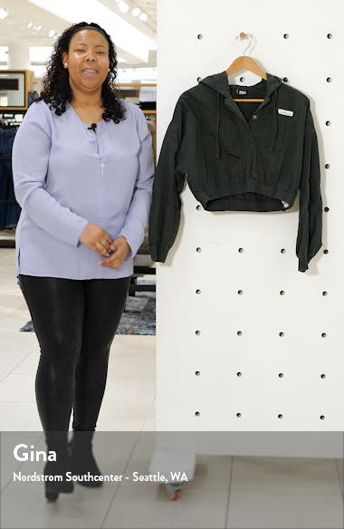 Crop Poplin Jacket, sales video thumbnail
