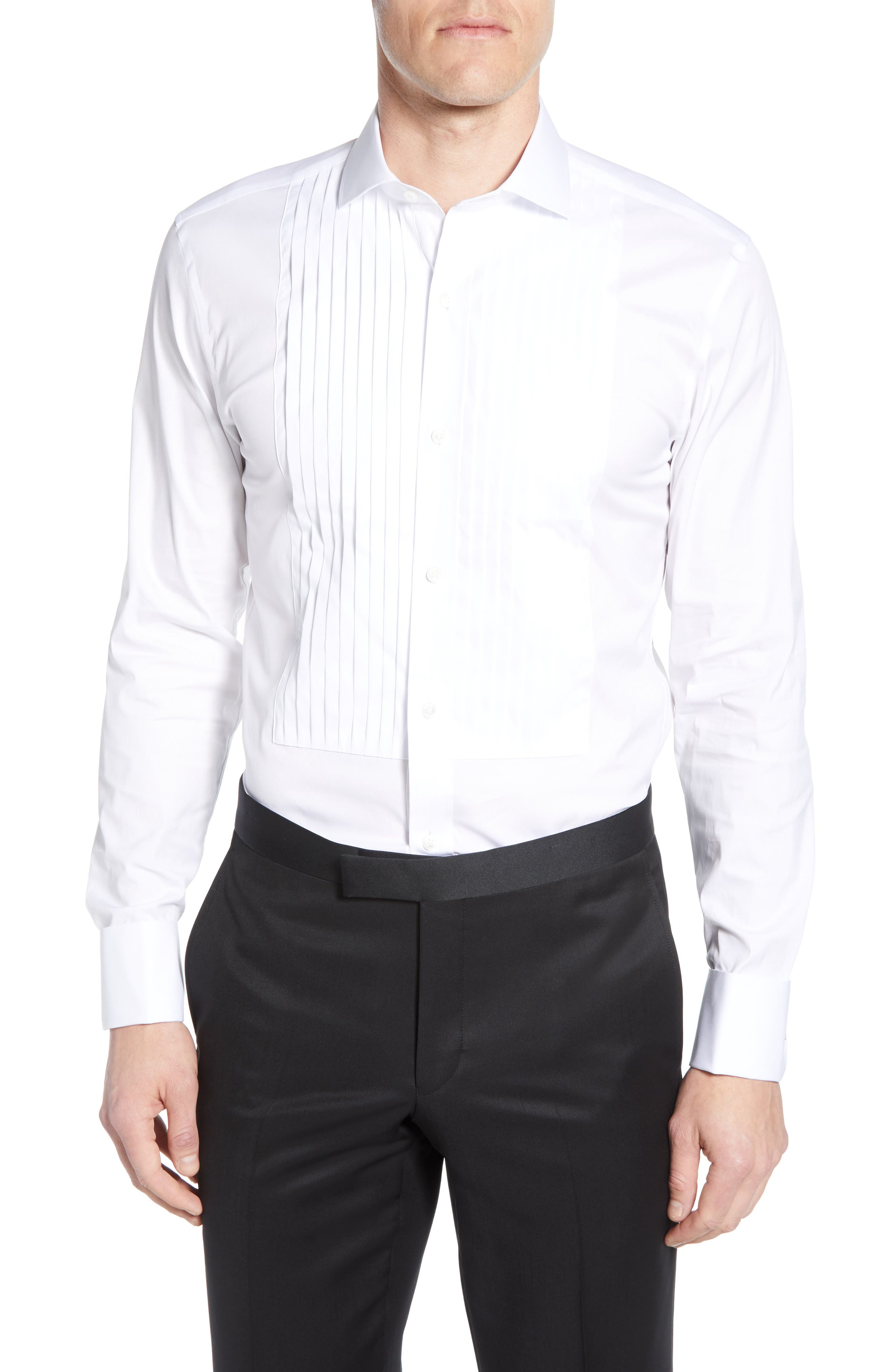 Image of Bonobos Slim Fit Stretch Solid Formal Shirt