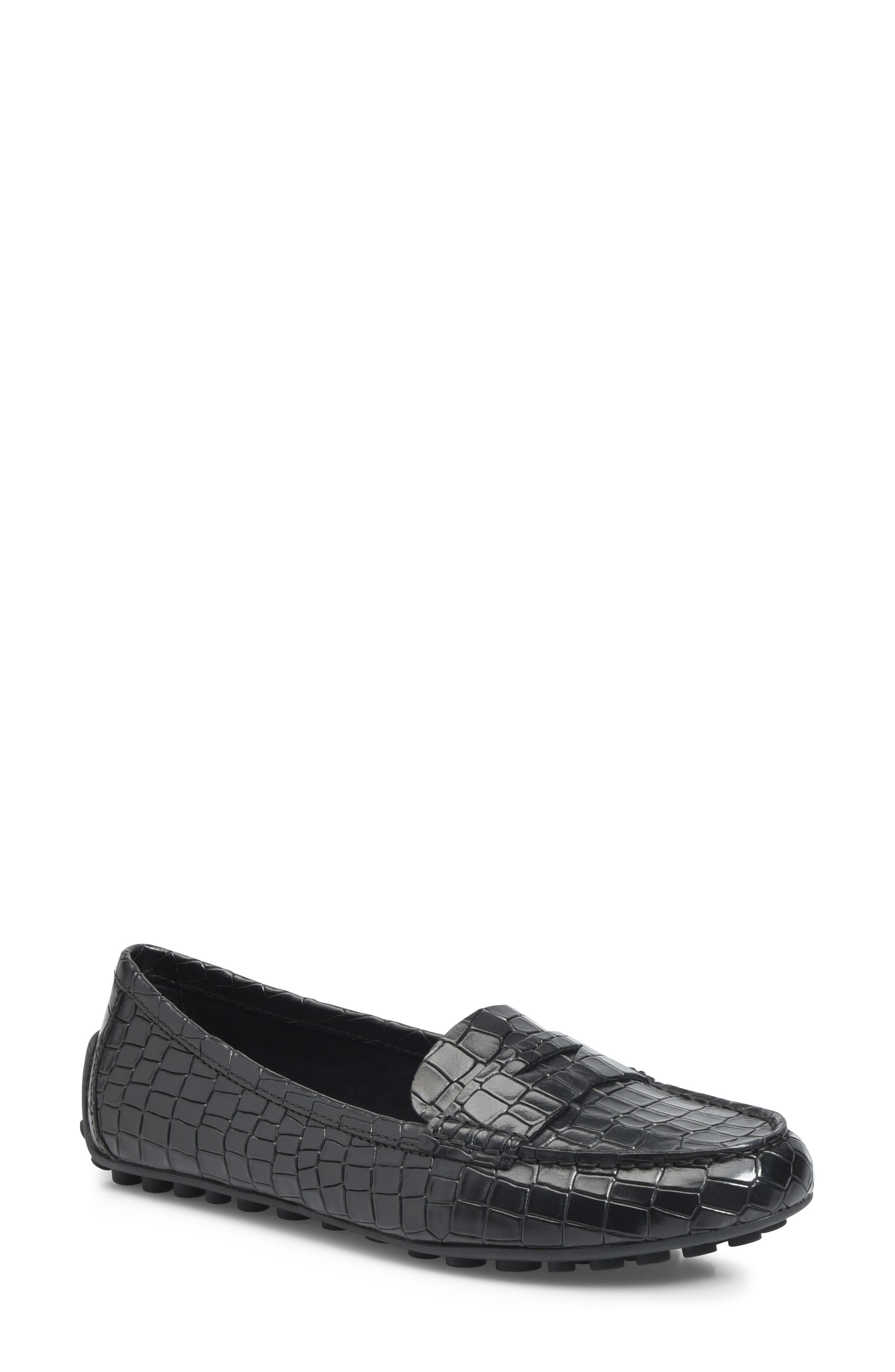 B?rn Malena Driving Loafer- Black