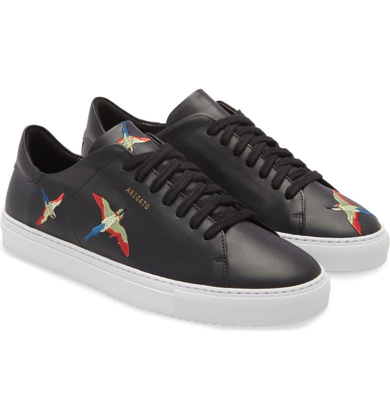 AXEL ARIGATO Clean 90 Bird Sneaker, Main, color, BLACK LEATHER