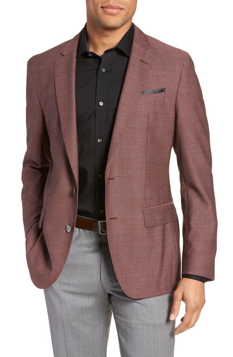 33919f317 Hartlay Trim Fit Wool Blazer, Main, color, 618