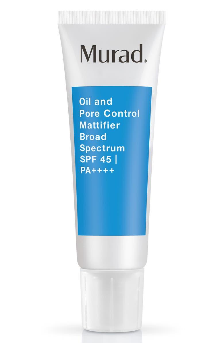 MURAD<SUP>®</SUP> Oil and Pore Control Mattifier SPF 45, Main, color, NO COLOR
