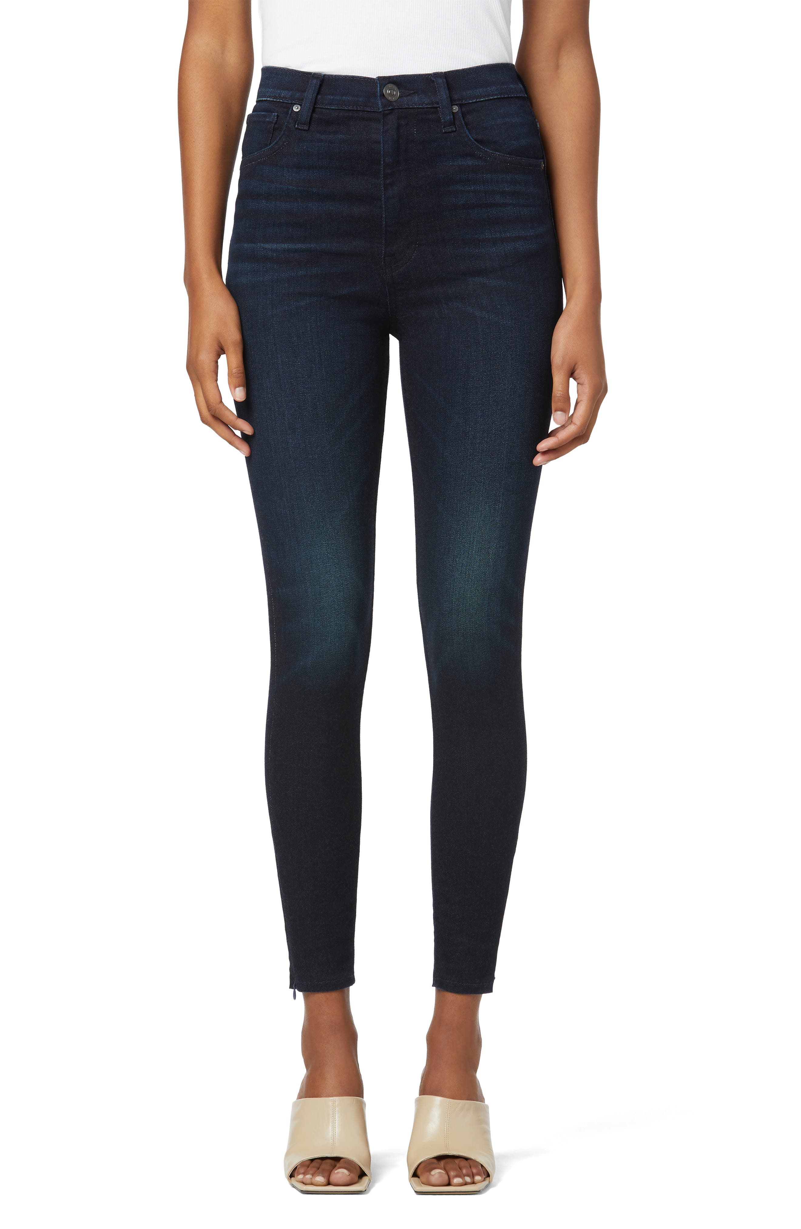 Centerfold Extended High Waist Ankle Skinny Jeans