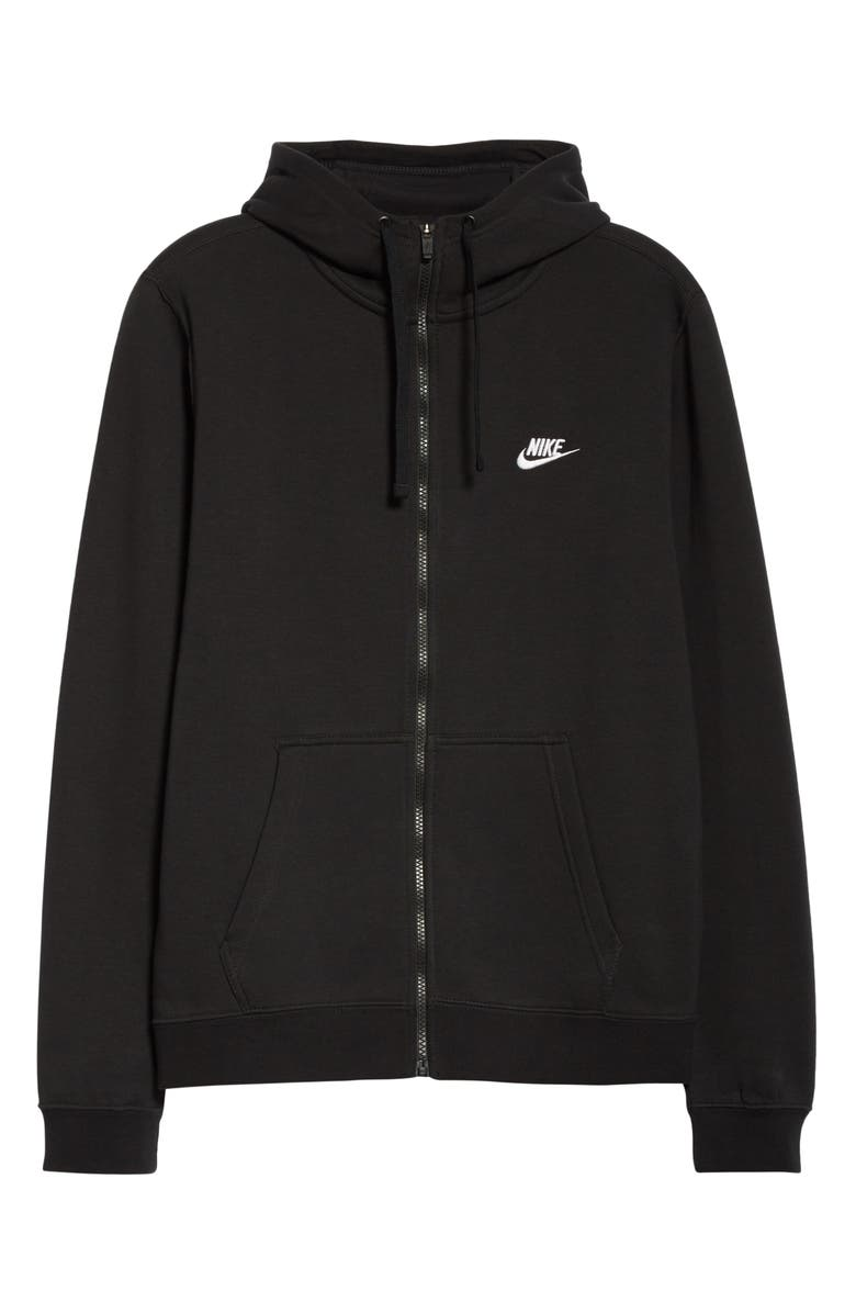 1017 ALYX 9SM x Nike Full Zip Hoodie, Main, color, BLACK