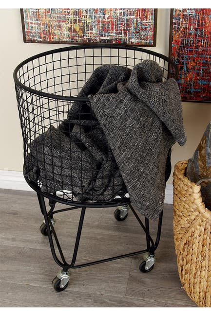 Image of COSMO BY COSMOPOLITAN Metal Roll String Basket