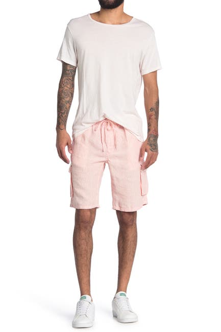 Image of Onia Tom Linen Cargo Shorts