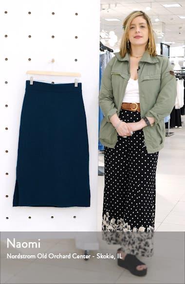 Midi Sweater Skirt, sales video thumbnail