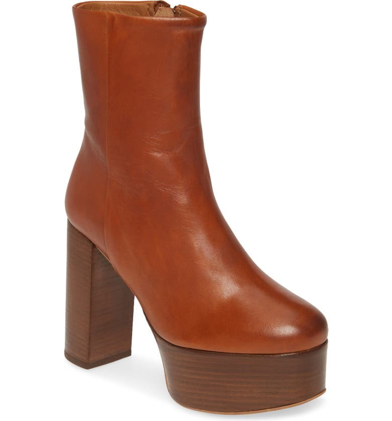 FREE PEOPLE Friday Night Platform Boot, Main, color, TAUPE