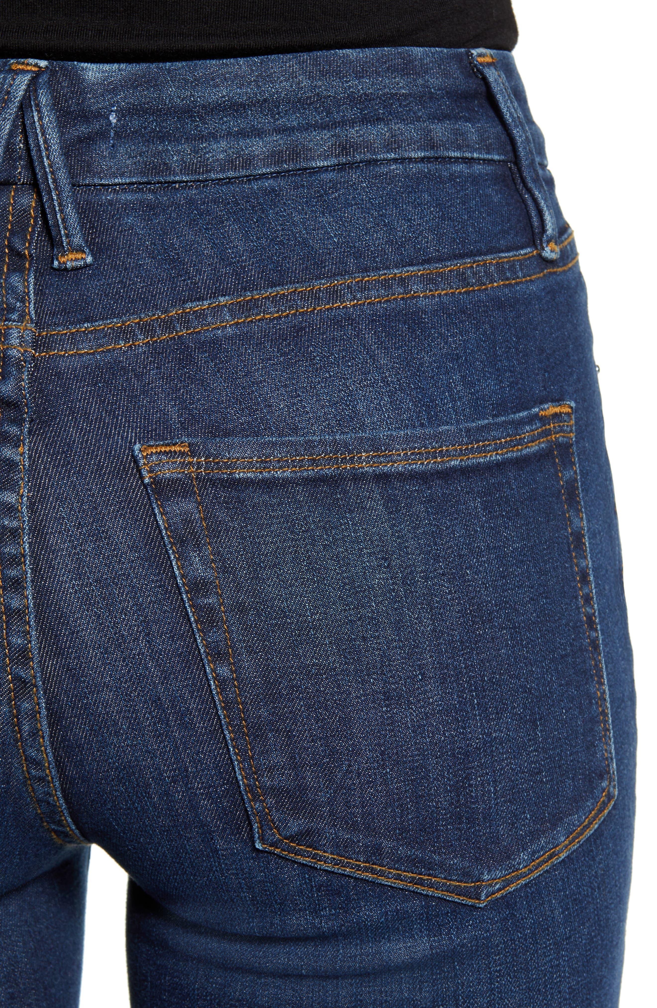 ,                             Good Legs High Waist Skinny Jeans,                             Alternate thumbnail 64, color,                             409