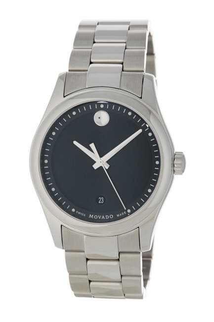 Image of Movado Men's Museum Swiss Quartz Bracelet Watch, 49mm