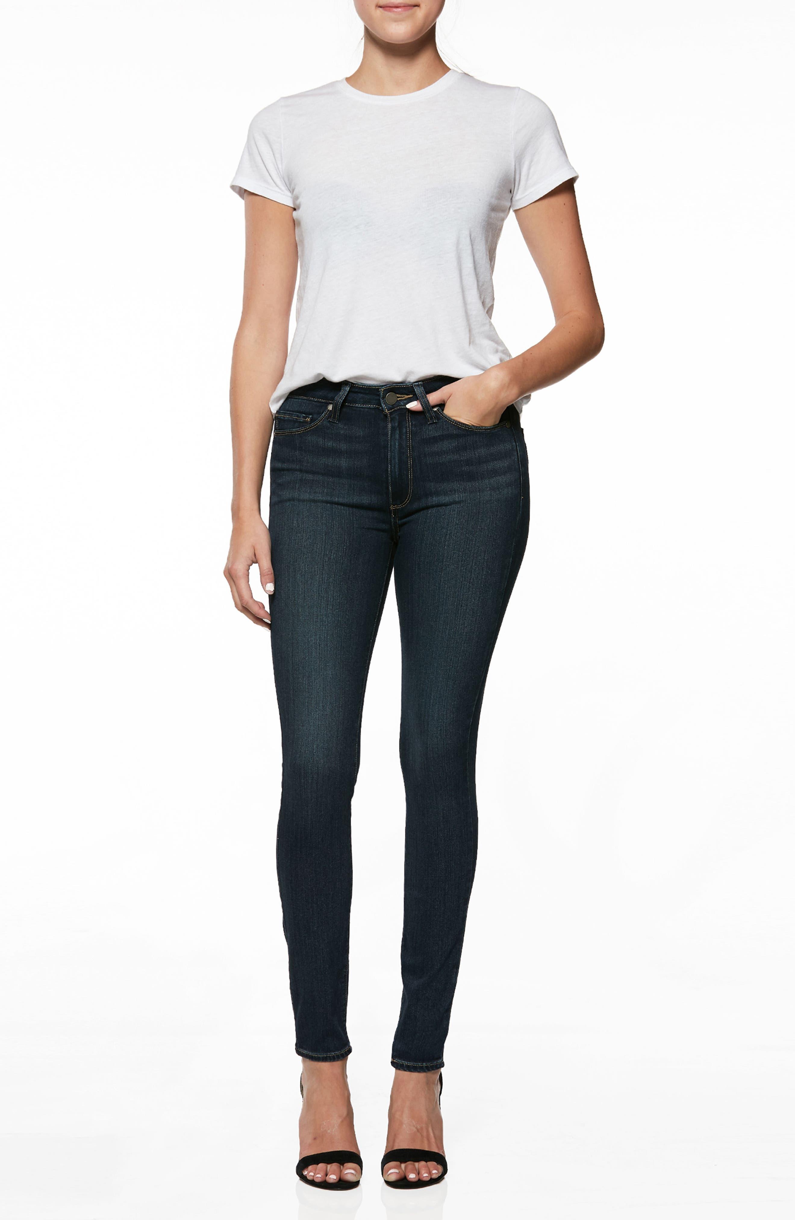 ,                             Transcend - Hoxton High Waist Ultra Skinny Jeans,                             Alternate thumbnail 9, color,                             400
