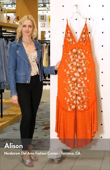 Paradise Floral Print Maxi Dress, sales video thumbnail