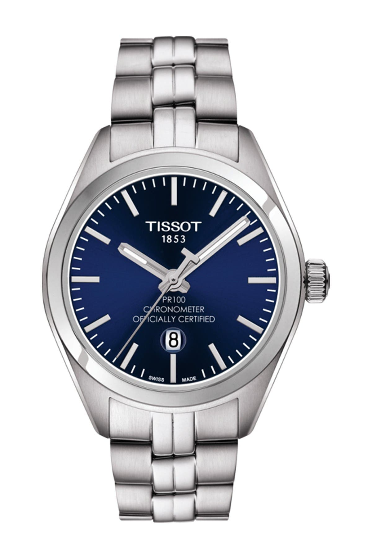 Image of Tissot Women's PR 100 Lady COSC Bracelet Watch, 33mm