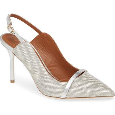 Malone Souliers Marion Pump, Metallic