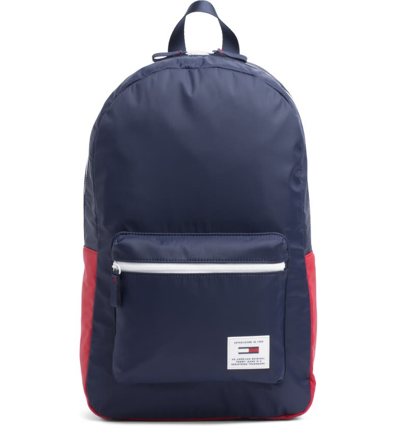TOMMY JEANS Urban Tech Backpack, Main, color, CORPORATE NAVY