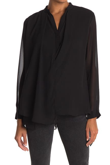 Image of ALLSAINTS Nova Chiffon Shirt