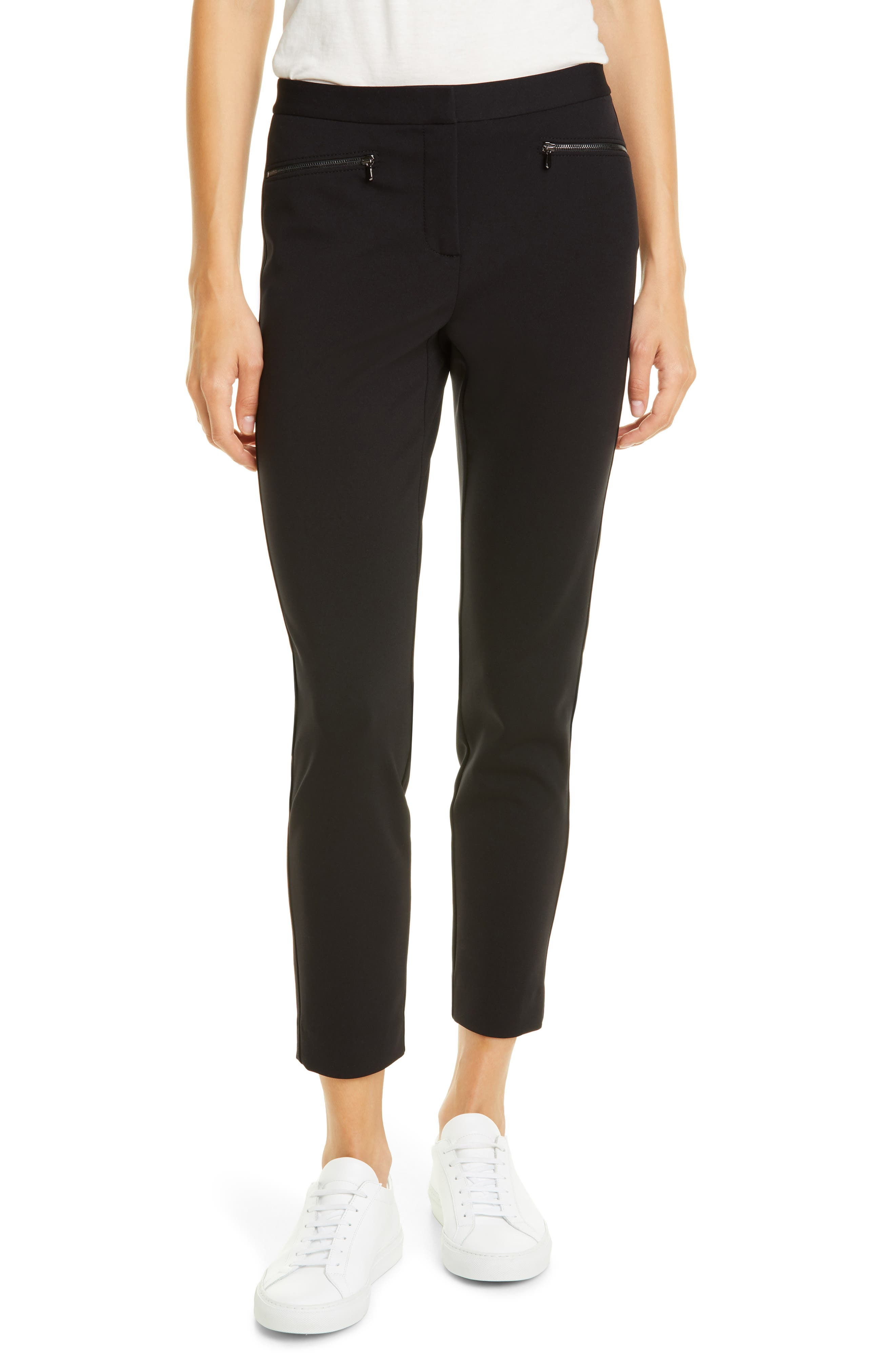 Nordstrom Signature Exposed Zip Knit Pants