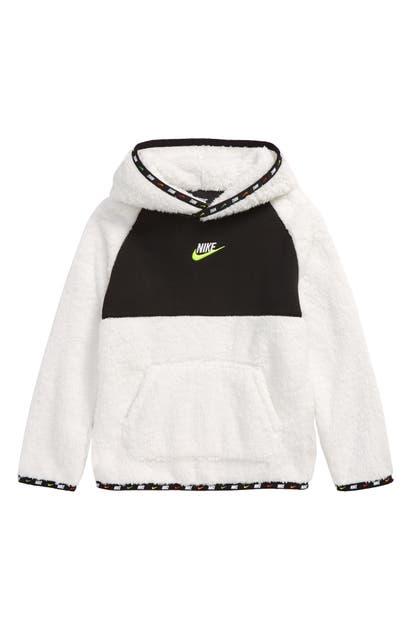 Nike KIDS' FLEECE LOGO HOODIE