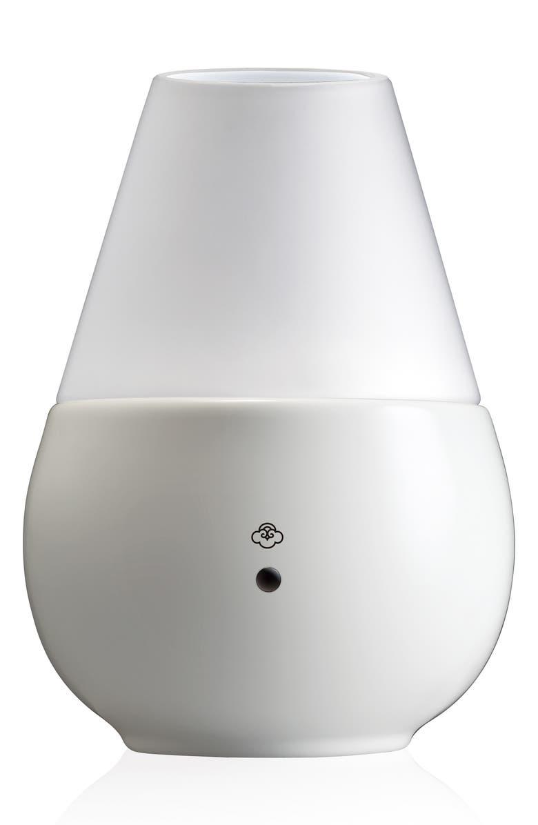 SERENE HOUSE Vulcan White Scentilizer Diffuser, Main, color, WHITE