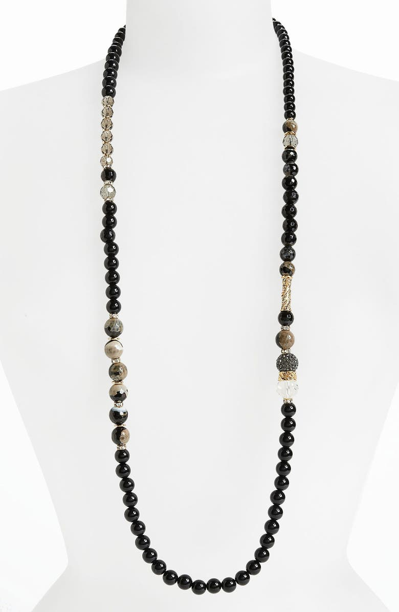 SEQUIN 'Holiday Hockney' Long Necklace, Main, color, 001