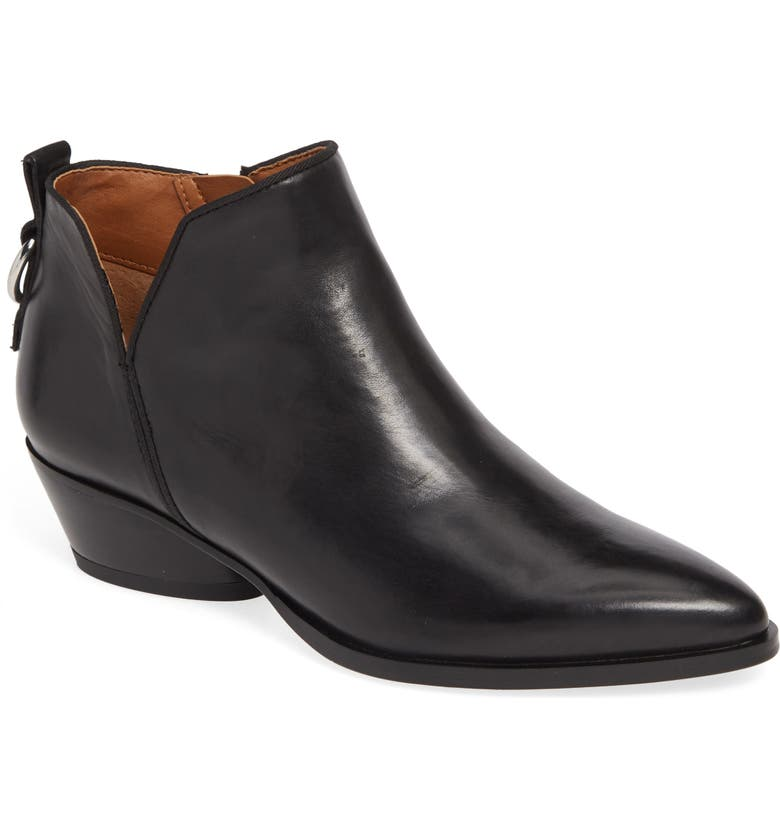 SARTO BY FRANCO SARTO Sloan Bootie, Main, color, BLACK LEATHER