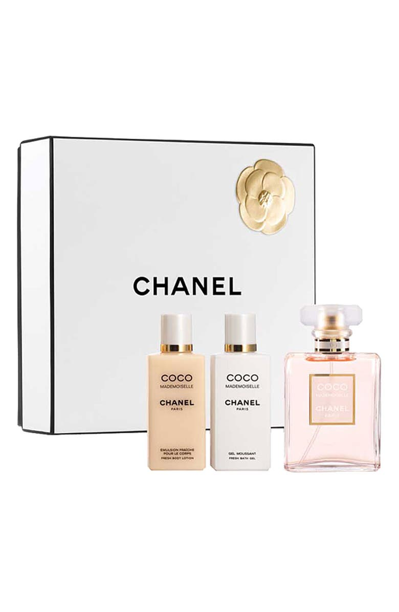 CHANEL COCO MADEMOISELLE SPIRITED AND SENSUAL GIFT SET, Main, color, 000