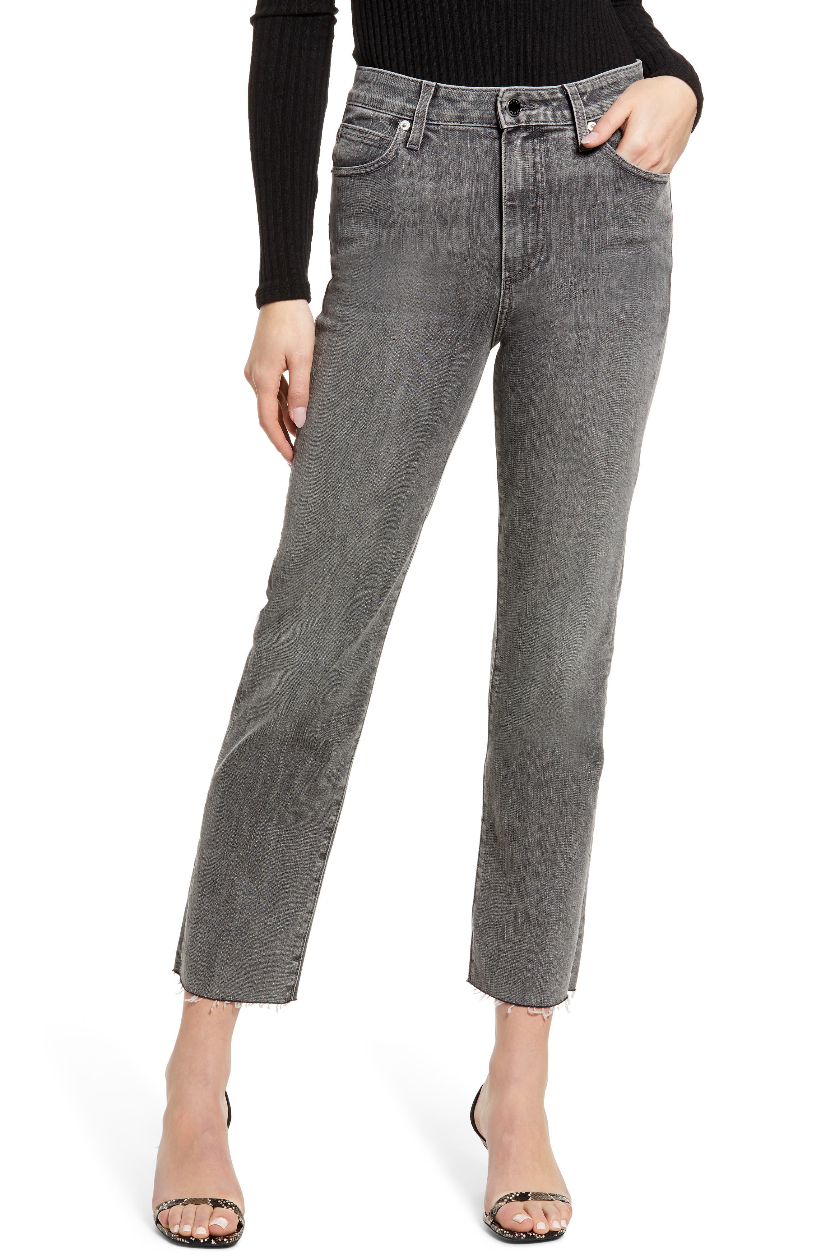 Sabine High Waist Straight Leg Jeans