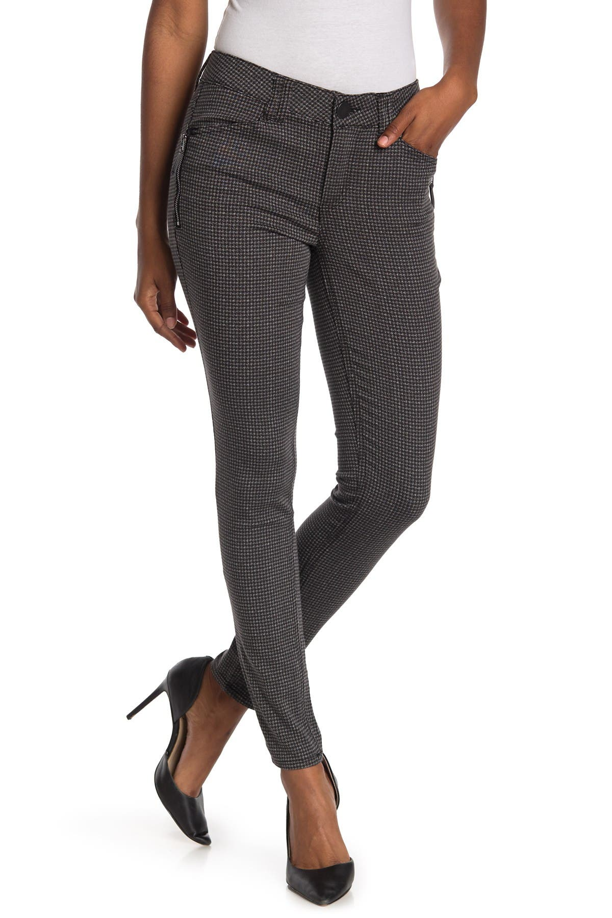 Image of Democracy Houndstooth Ab Technology Jeggings