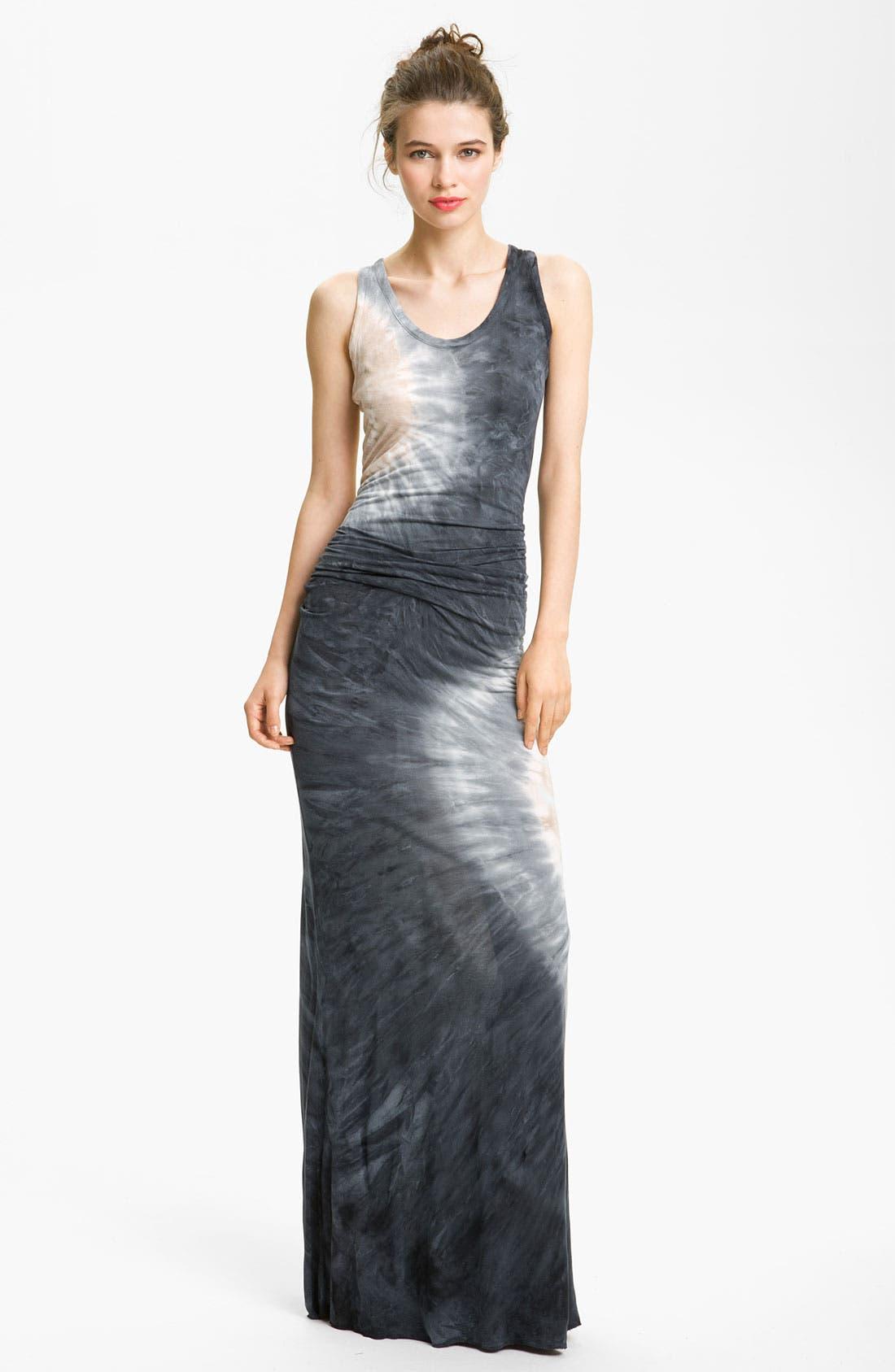'Hamptons' Tie Dye Maxi Dress, Main, color, 002