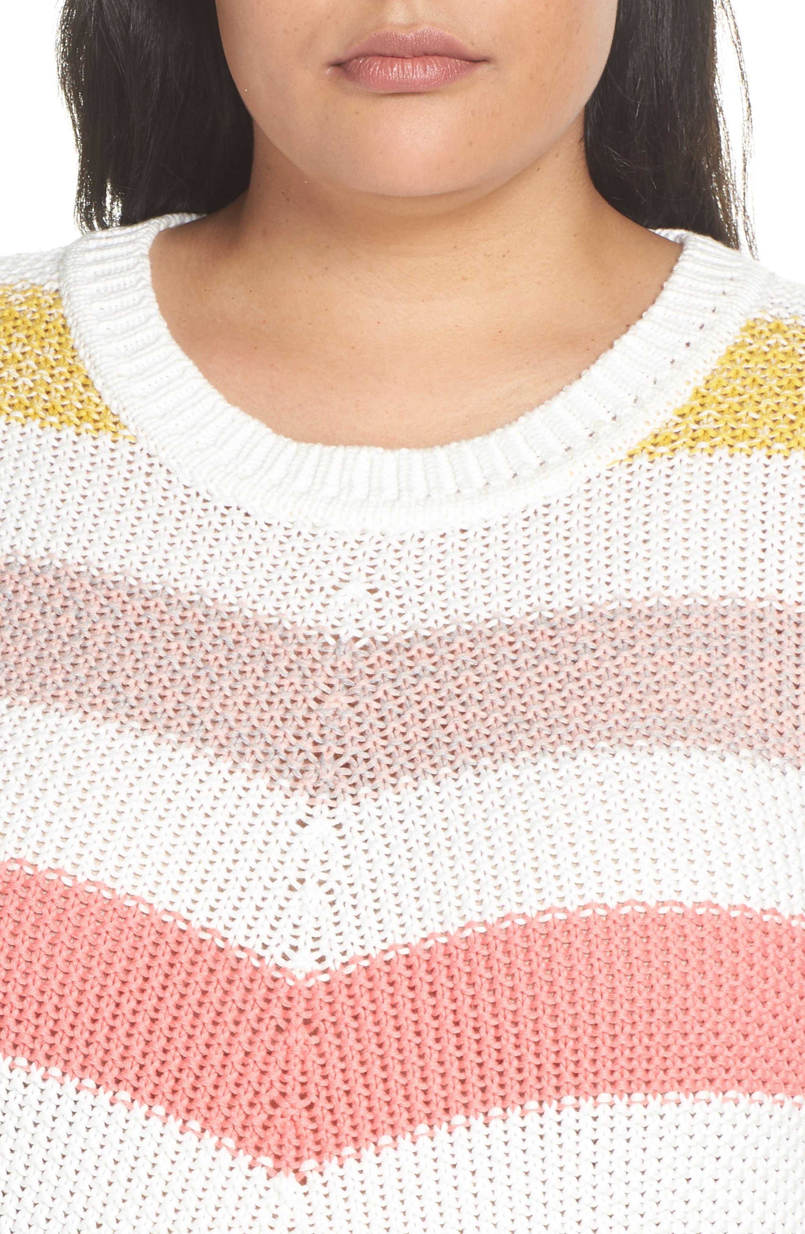 ,                             Stitch Stripe Sweater,                             Alternate thumbnail 10, color,                             901