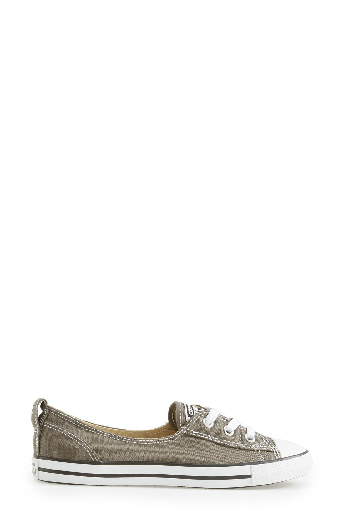 ,                             Chuck Taylor<sup>®</sup> All Star<sup>®</sup> Ballet Canvas Sneaker,                             Alternate thumbnail 15, color,                             020