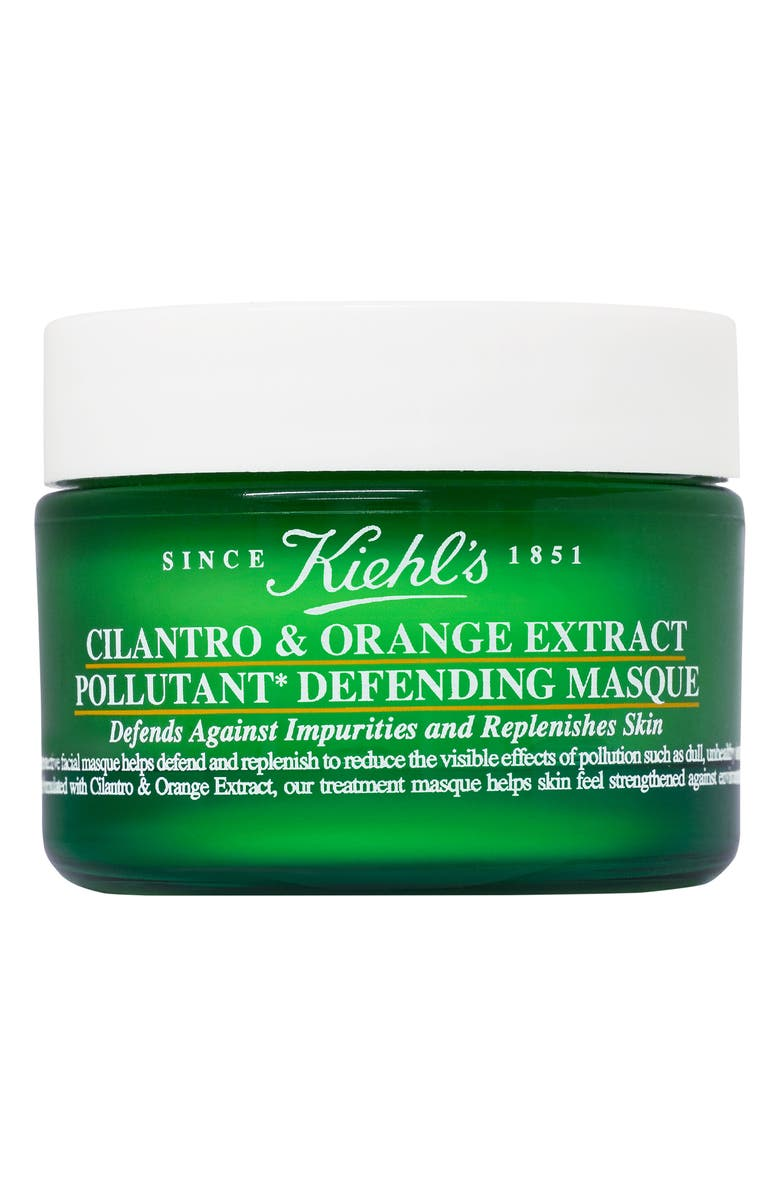 KIEHL'S SINCE 1851 Cilantro & Orange Extract Pollutant Defending Masque, Main, color, 000