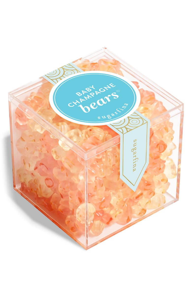 SUGARFINA Baby Champagne Bears Large Candy Cube, Main, color, 650