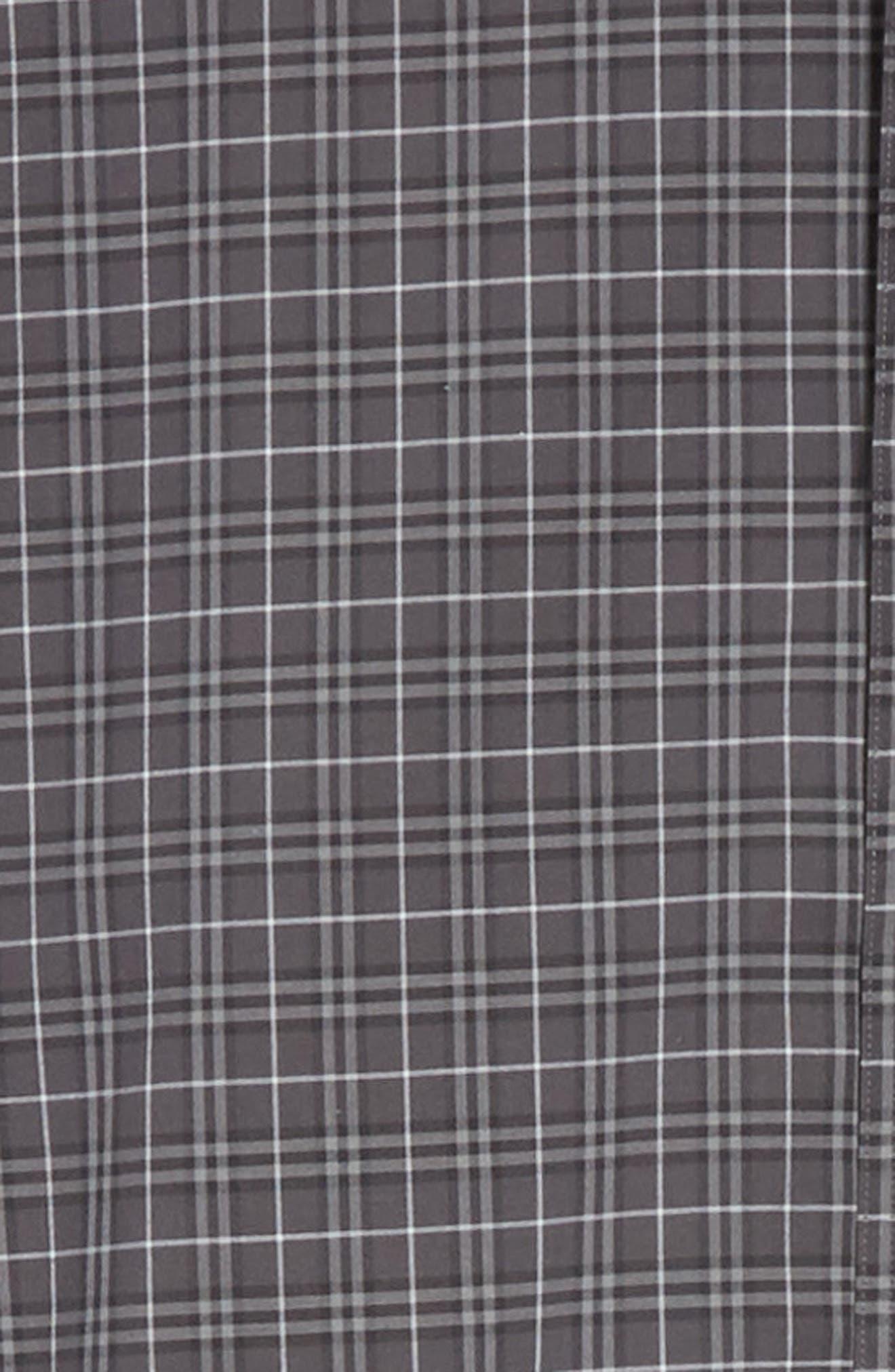 ,                             Jameson Slim Fit Check Sport Shirt,                             Alternate thumbnail 6, color,                             DARK GREY IP CHECK