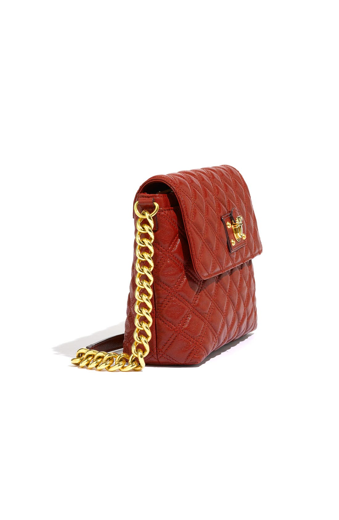 ,                             'Large Quilting Single' Leather Shoulder Bag,                             Alternate thumbnail 35, color,                             600