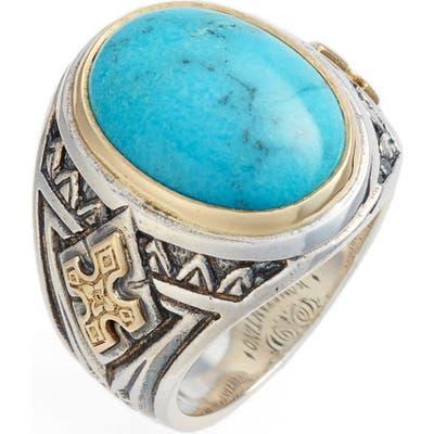 Konstantino Heonos Turquoise Ring