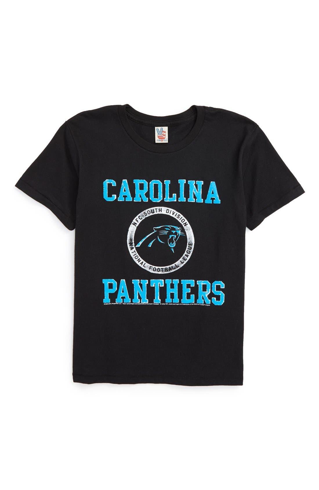 boys carolina panthers t shirt