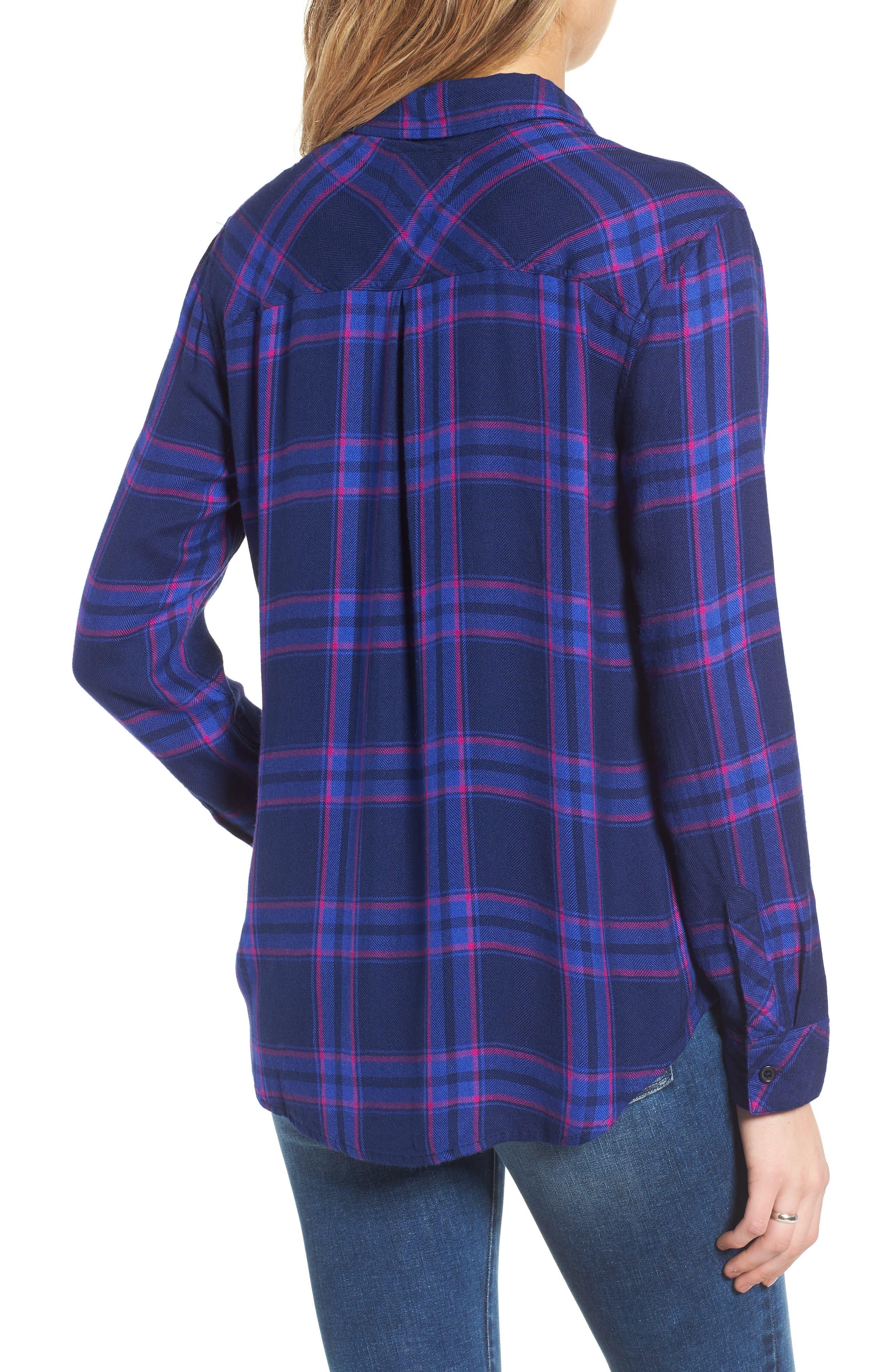 ,                             Hunter Plaid Shirt,                             Alternate thumbnail 457, color,                             405