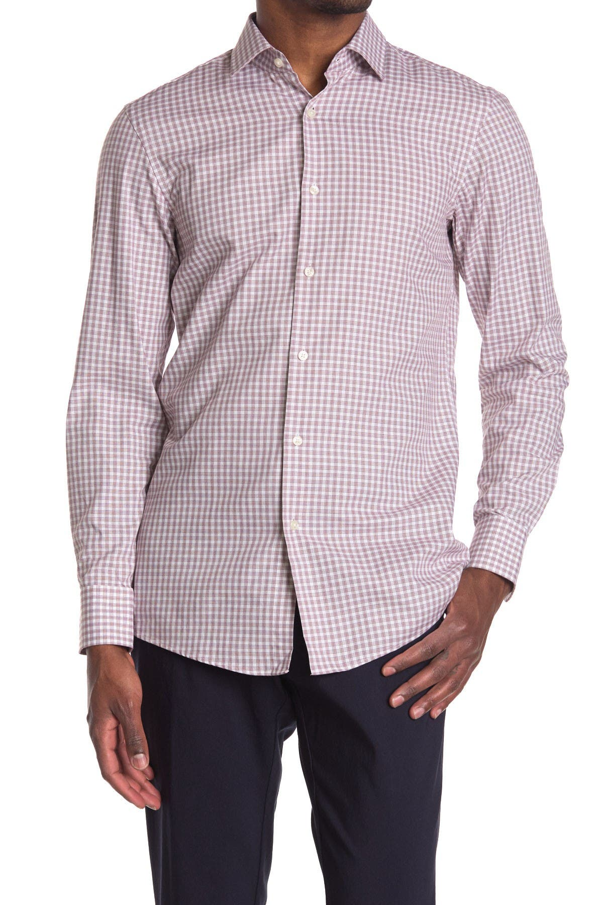 Image of BOSS Marley Sharp Fit Dress Shirt