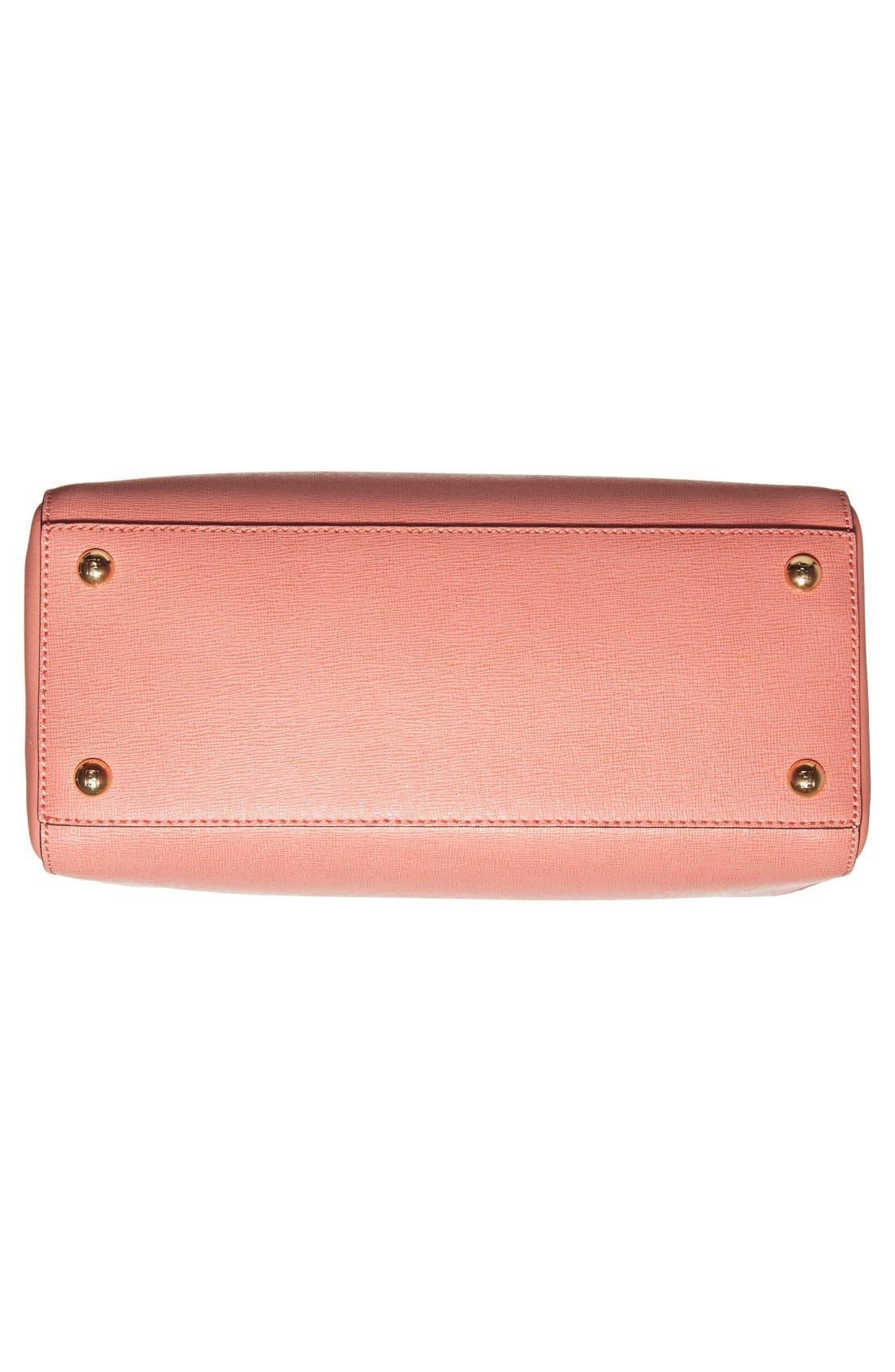 ,                             'Petite 2Jours Elite' Leather Shopper,                             Alternate thumbnail 120, color,                             950