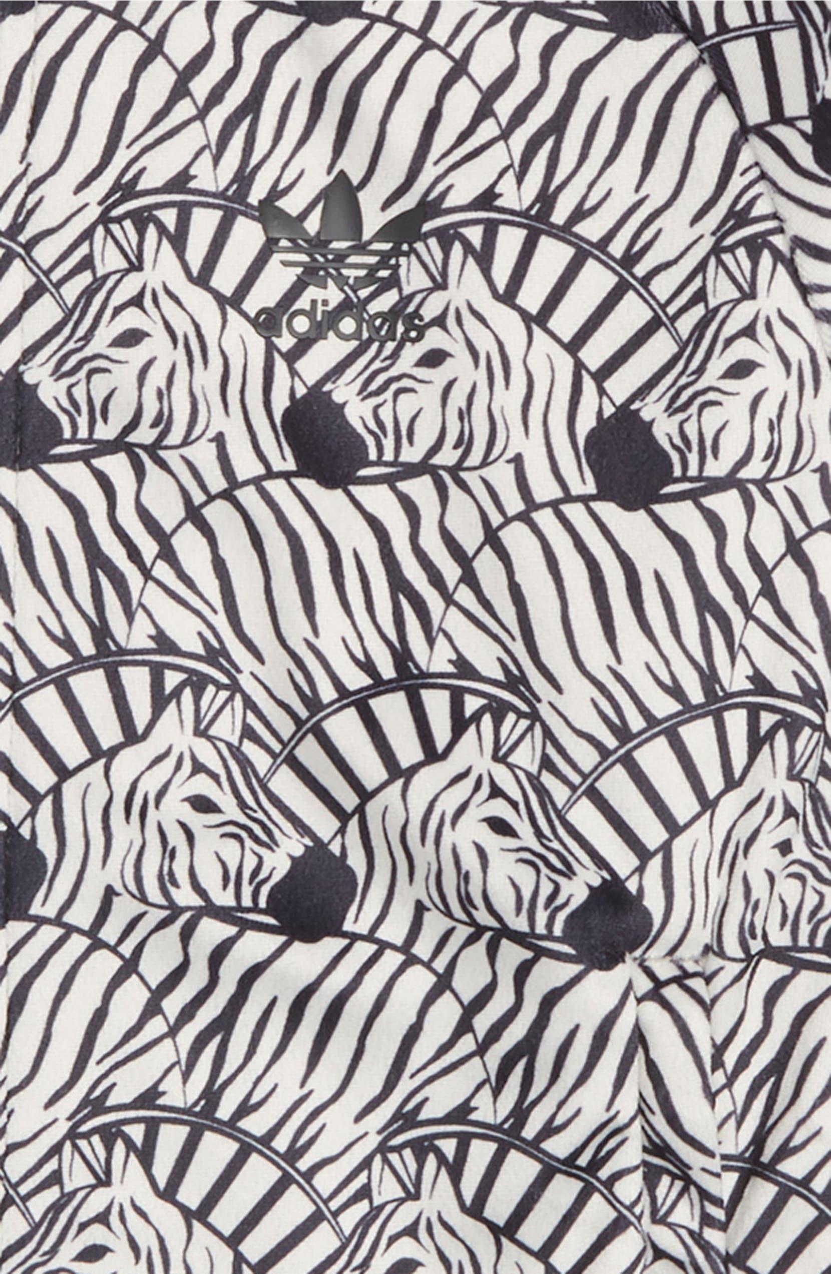 adidas Originals J Zebra Track Jacket (Big Girls) | Nordstrom