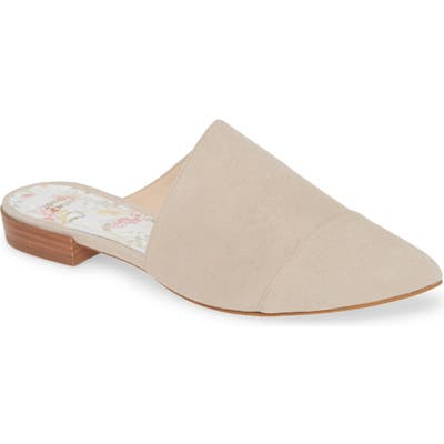 Johnston & Murphy Addie Mule- Beige