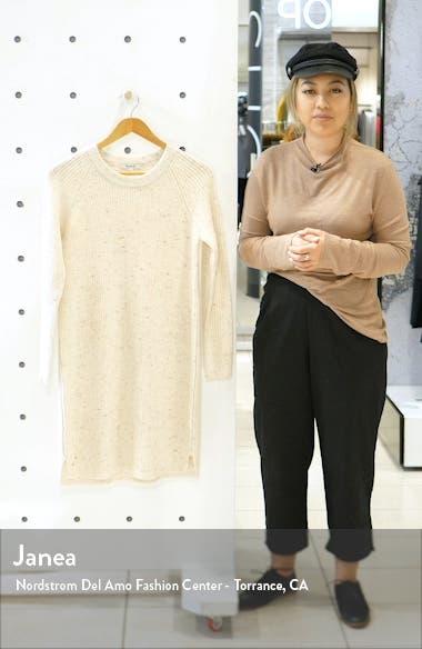 Curved Hem Sweater Dress, sales video thumbnail