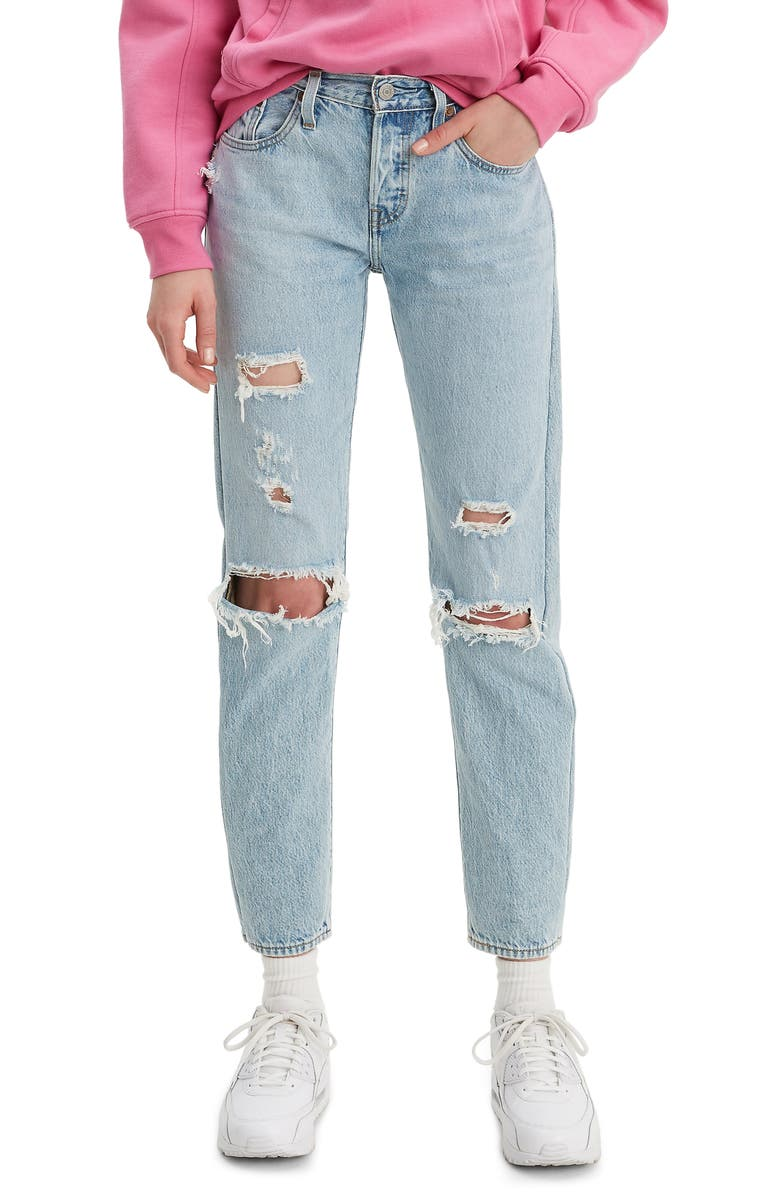 sale uk really comfortable entire collection Levis 501 Tapered Jeans Femme