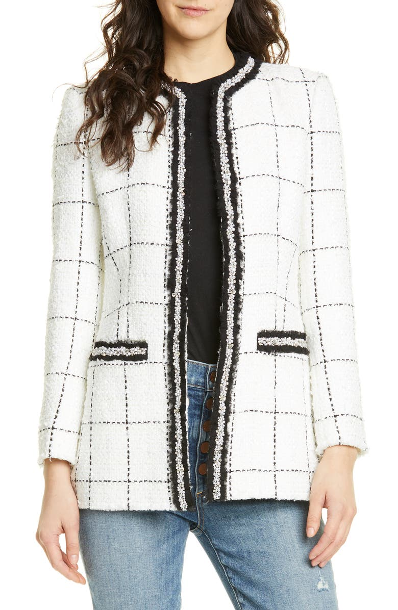 Indiri Strong Shoulder Check Jacket by Alice + Olivia