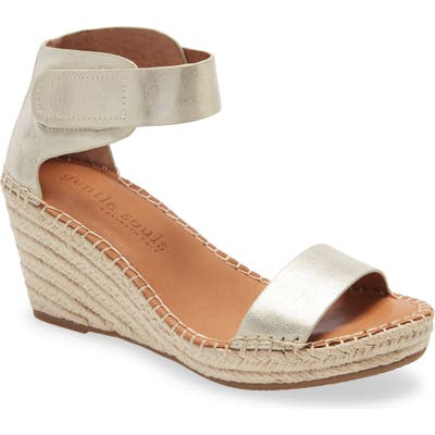 Gentle Souls By Kenneth Cole Charli Wedge Sandal- Ivory