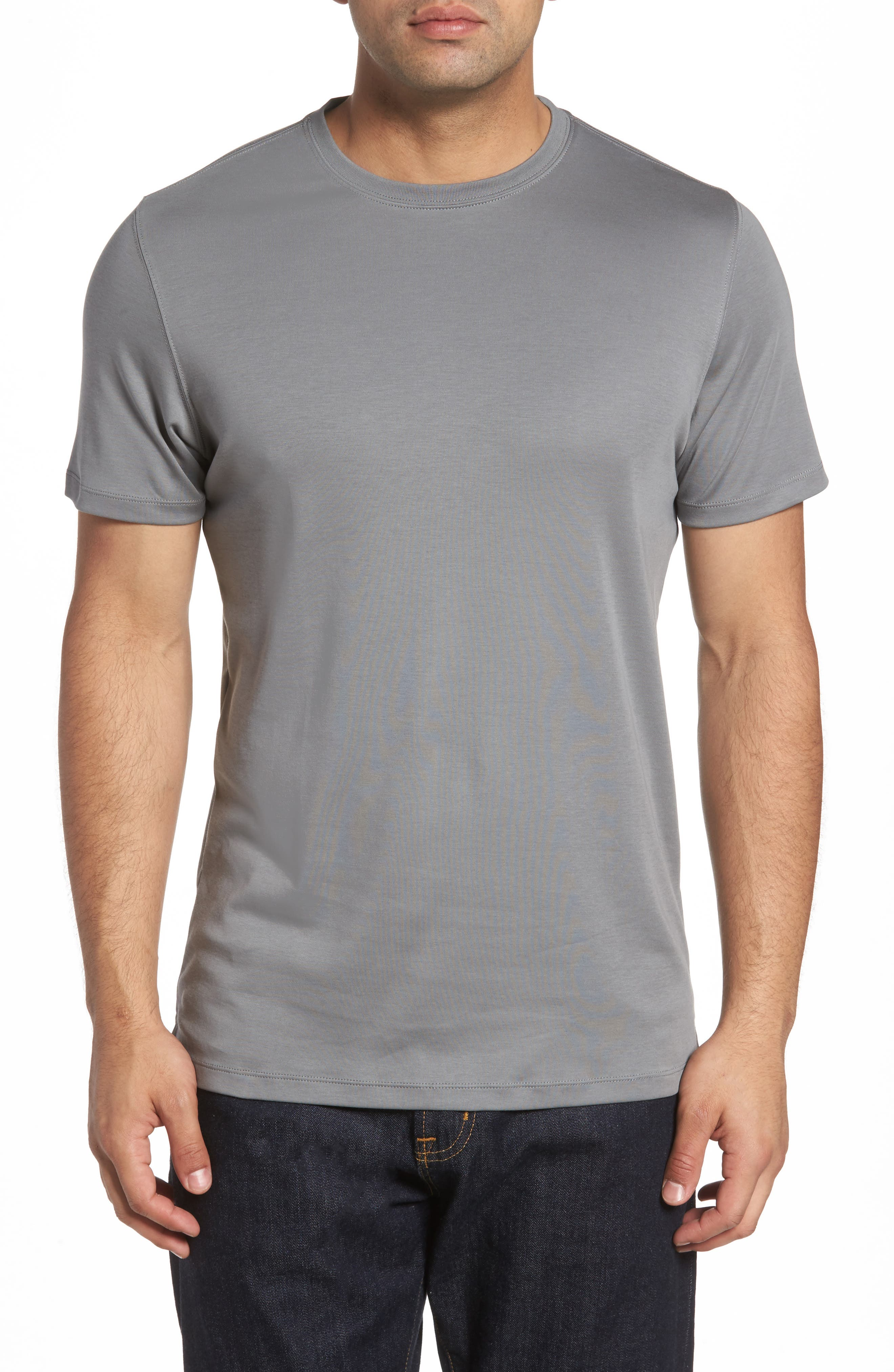 ,                             Georgia Crewneck T-Shirt,                             Main thumbnail 142, color,                             025
