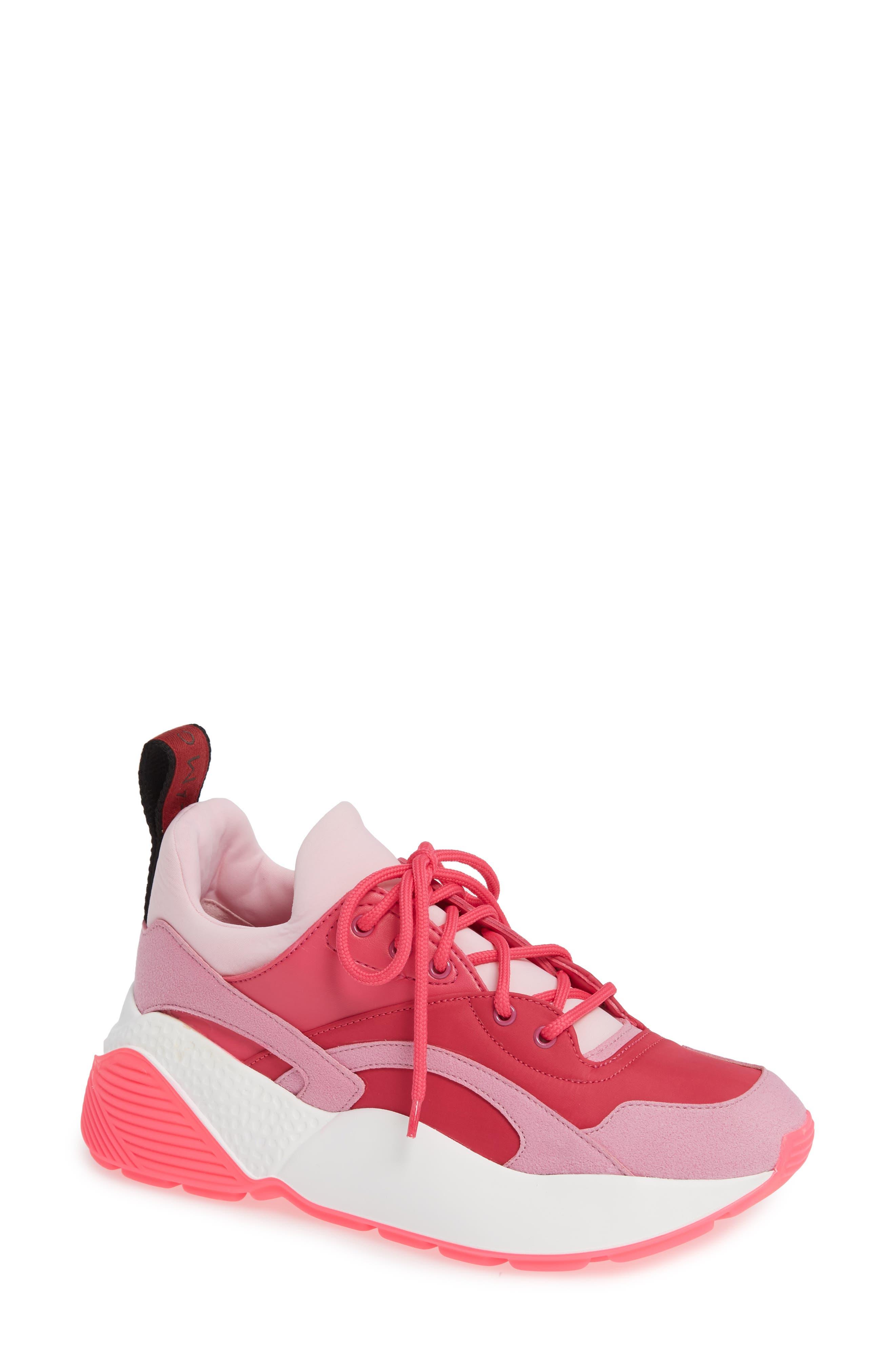 Stella Mccartney Eclypse Sneaker, Pink