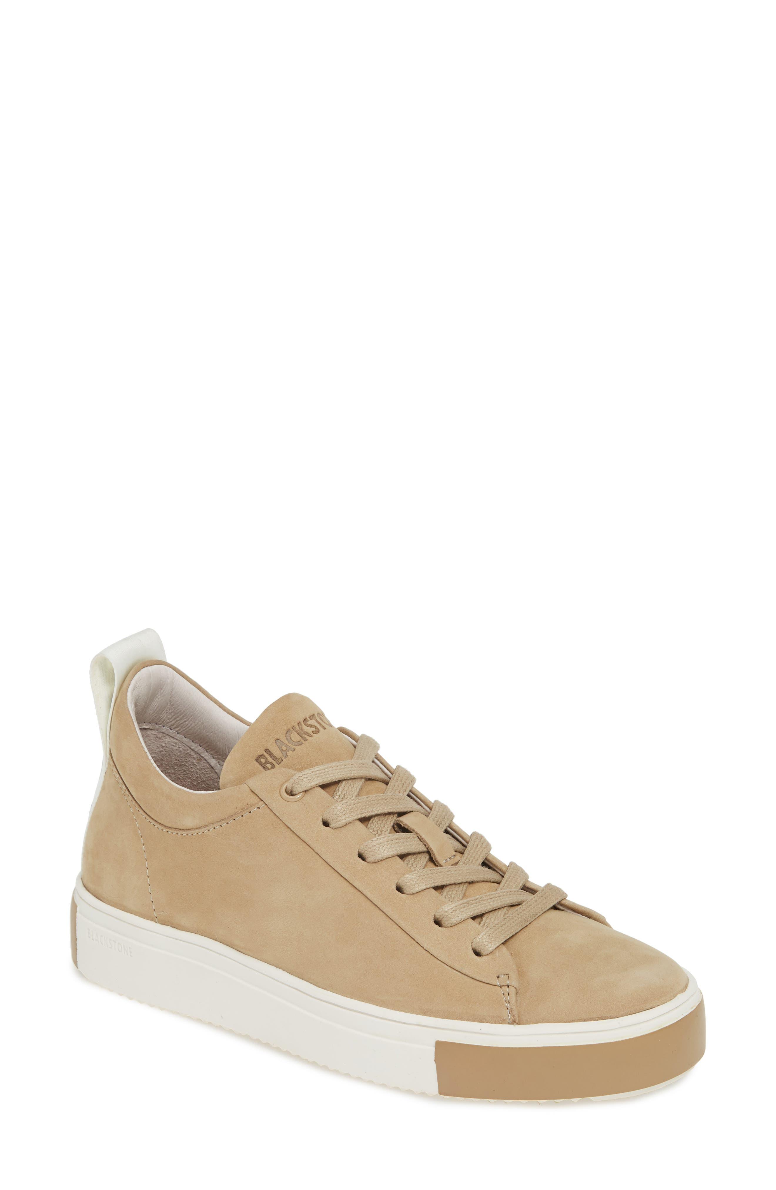 Blackstone Rl65 Mid Top Sneaker, Beige
