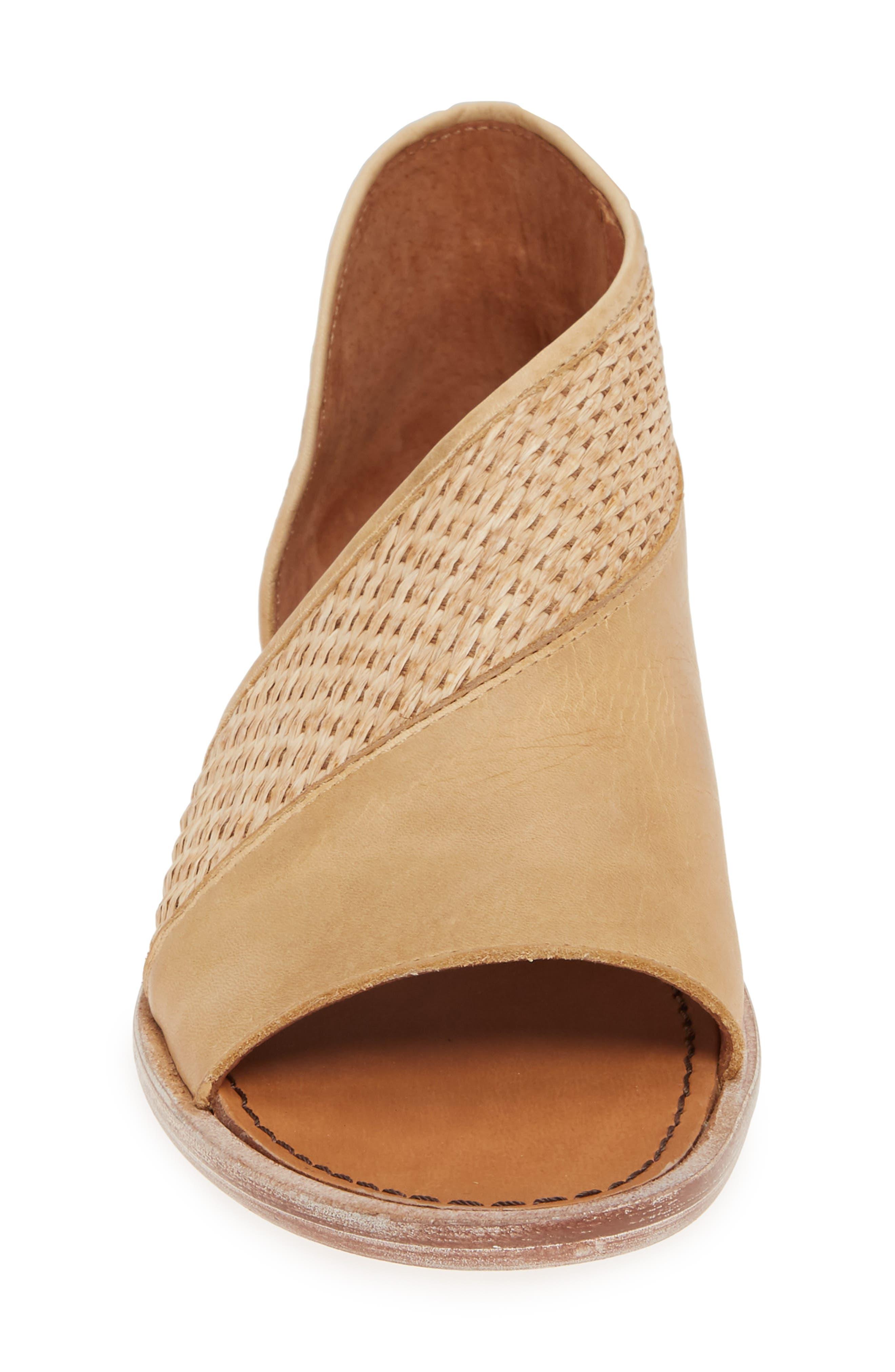 ,                             'Mont Blanc' Asymmetrical Sandal,                             Alternate thumbnail 5, color,                             NATURAL